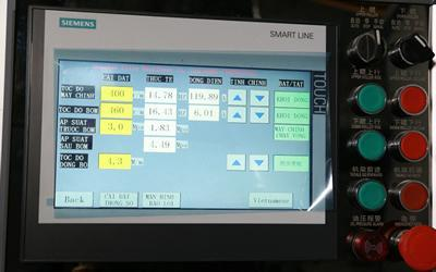 Siemens display screen